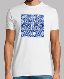 Camiseta Chico M/C Azulejo
