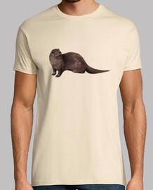 Camiseta chico Nutria