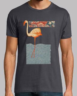 Camiseta Chico Pink Flamingo Vintage