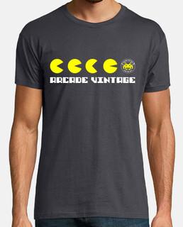 Camiseta Chico Puckman Arcade Vintage