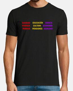 Camiseta Chico Slogans Público