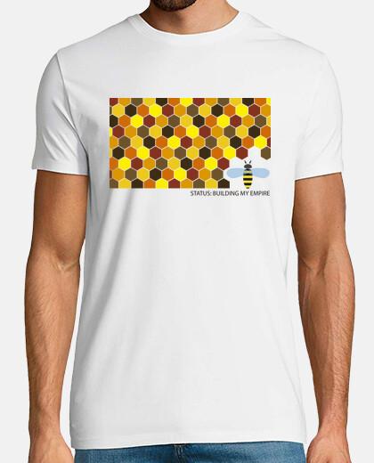 Camiseta chico Status: building my empire