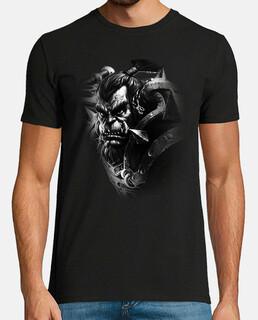 Camiseta chico Thrall B&N