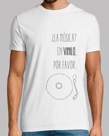 Camiseta chico vinilo