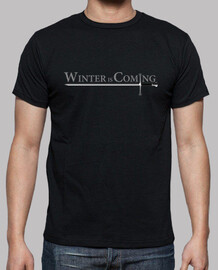 Camiseta chico Winter is coming-needle (Game of thrones