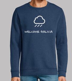 Camiseta Chove welcome galicia