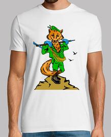 Camiseta Cia. E.E. Mascota Zorro mod.1
