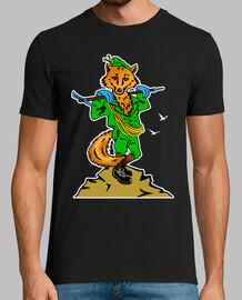 Camiseta Cia. E.E. Mascota Zorro mod.2