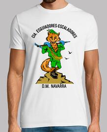 Camiseta Cia. E.E. Mascota Zorro mod.3