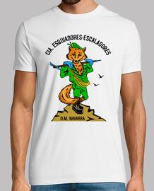 Camiseta Cia. E.E. Mascota Zorro mod.5