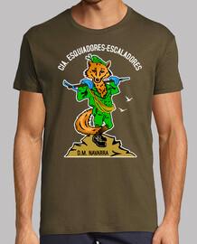Camiseta Cia. E.E. Mascota Zorro mod.6