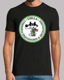 Camiseta Cia. E.E. Viella Lobito mod.1
