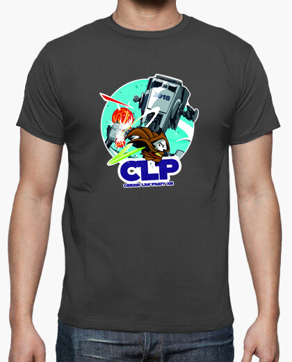 Camiseta ciberia lan party 2018