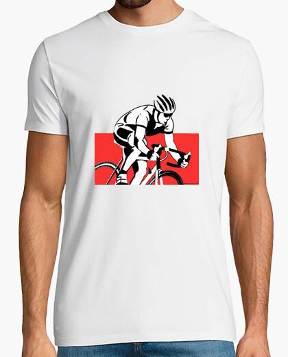 Camiseta Ciclista siluet