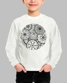 Camiseta Círculo de Mandalas, Niñe