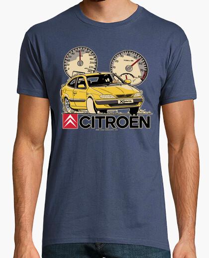 Camiseta CITROEN XSARA AMARILLO MOLDURAS