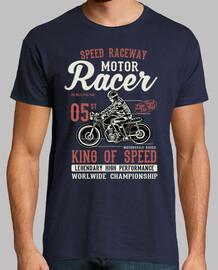 Camiseta Classic Motor Racer
