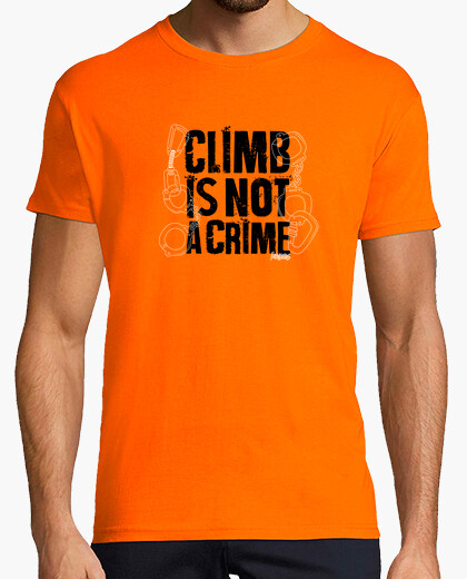 Camiseta Climb is not a crime