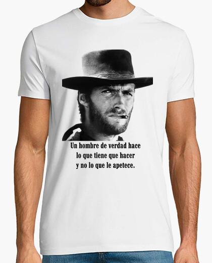 Camiseta Clint Eastwood western