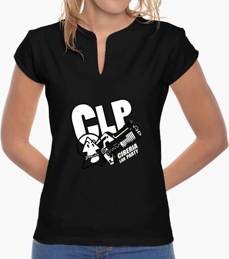 Camiseta clp2012 verde pistacho mujer
