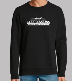 camiseta club de jazz vintage