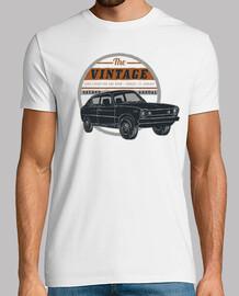 Camiseta Coche Vintage Retro