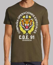 Camiseta COE 91. Granada mod.5