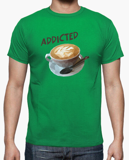 Camiseta Coffee addicted