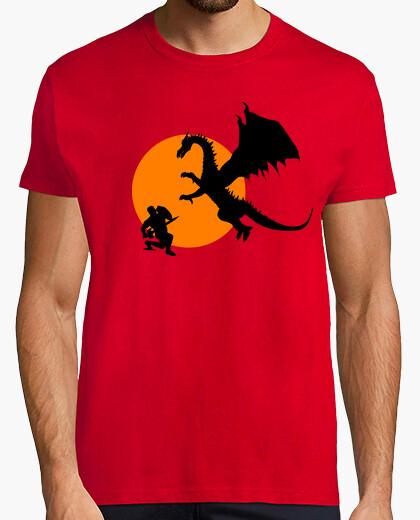 Camiseta Combate dragón