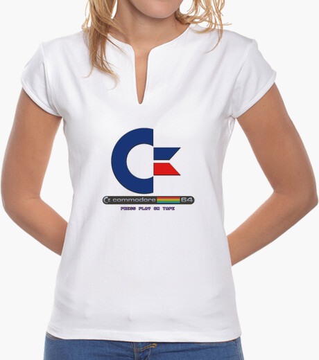 Camiseta Commodore 64 FC1