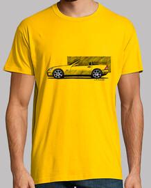 Camiseta con mi dibujo del icónico Mercedes Benz SLK