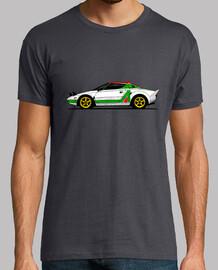 Camiseta con mi dibujo del Lancia Stratos Gr.4
