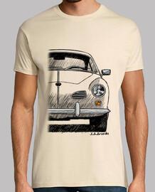 Camiseta con mi dibujo del VW Karmann Ghia