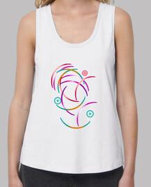 camiseta con semicírculos