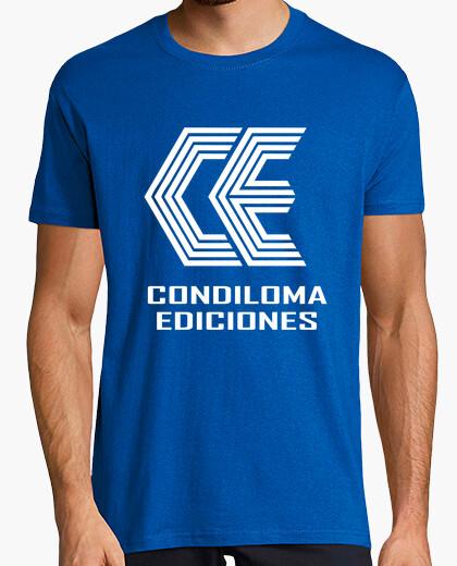 Camiseta Condiloma Ediciones logo