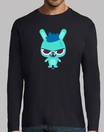 Camiseta conejo cabreado manga larga, varios colores