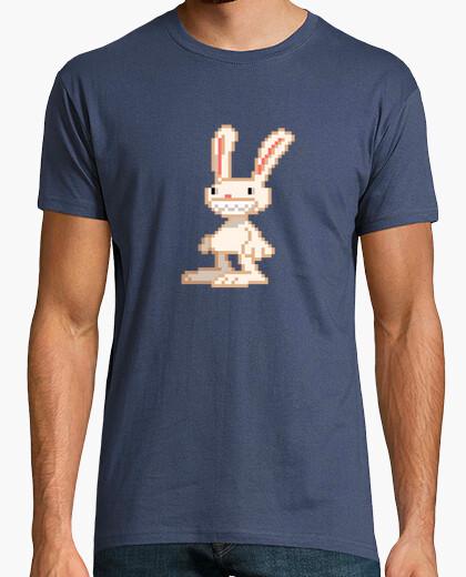 Camiseta Conejo Max Pixel Retro de Sam And...