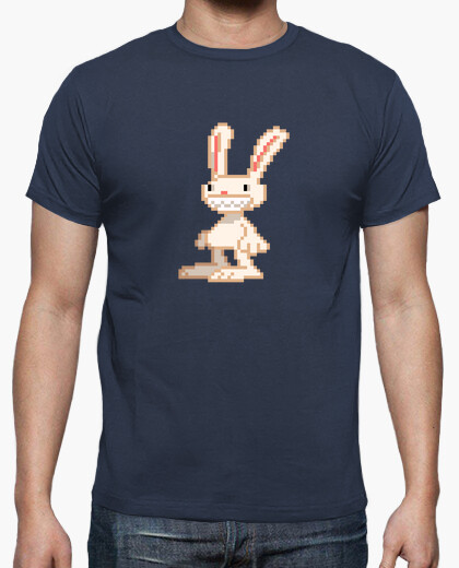 Camiseta Conejo Max Pixel Retro de Sam And Max