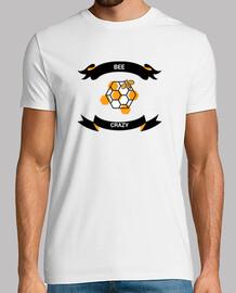 Camiseta cool hombre diseño abejas