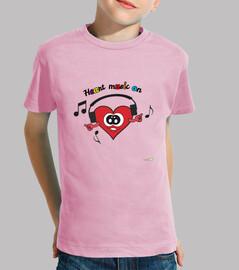 Camiseta Corazón contento