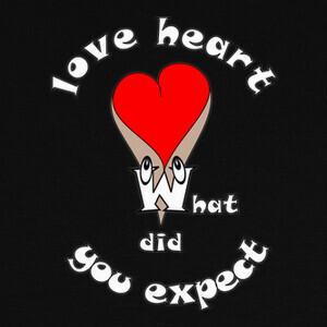 camiseta corazón sexy humor lo que espe T-shirts
