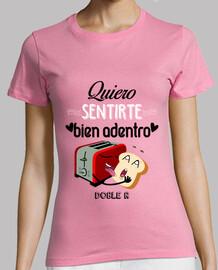 Camiseta corte regular Mujer - DOBLE R 001