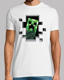 Camiseta Creeper Minecraft