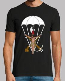 Camiseta Cristo Paracaidista mod.1