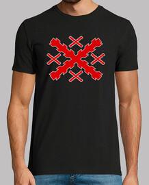 Camiseta Cruz de San Andrés, Cruz de Borgoña