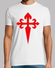 Camiseta cruz santiago