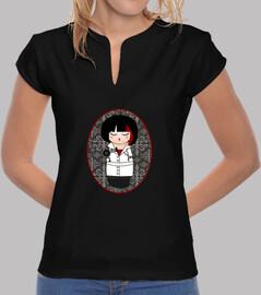 Camiseta cuello mao Kokeshi Peluquera
