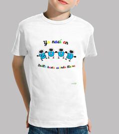 Camiseta cumpleaños nacidos en 2009