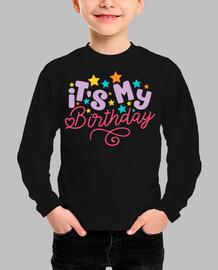 Camiseta cumpleaños niña | It's my birthday