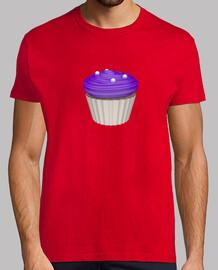 Camiseta cupcake de arandanos